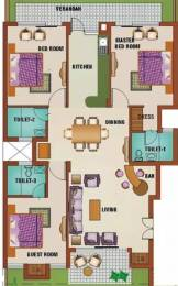 1525 sqft, 3 bhk Apartment in Ansal Palm Grove Sector 115 Mohali, Mohali at Rs. 12000