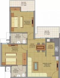 1000 sqft, 2 bhk Apartment in Gaursons Siddhartham Siddharth Vihar, Ghaziabad at Rs. 38.0000 Lacs