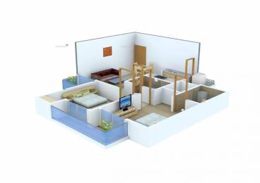 891 sqft, 2 bhk Apartment in  Cherry County Techzone 4, Greater Noida at Rs. 40.5000 Lacs