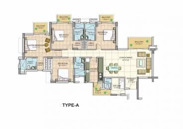2450 sqft, 4 bhk Apartment in BPTP Park Serene Sector 37D, Gurgaon at Rs. 1.1100 Cr