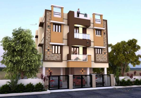 788 sqft, 2 bhk BuilderFloor in Builder Project Medavakkam, Chennai at Rs. 42.0000 Lacs