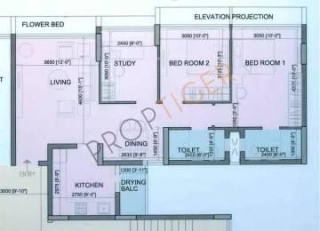 1360 sqft, 2 bhk Apartment in Runwal The Orchard Residency Ghatkopar West, Mumbai at Rs. 2.8000 Cr