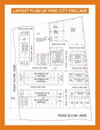 1350 sqft, Plot in Builder Pink City Enclave Shivdaspura, Jaipur at Rs. 9.3750 Lacs