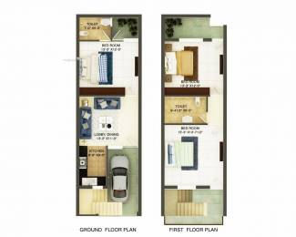 630 sqft, 3 bhk Villa in Builder Vatika The Green Paradise Mohali Sector 127, Chandigarh at Rs. 30.0000 Lacs