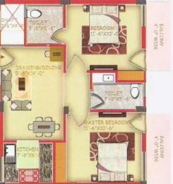 788 sqft, 2 bhk Apartment in JBM Residency Sector 26 Gurgaon, Gurgaon at Rs. 44.5645 Lacs