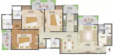 1845 sqft, 3 bhk Apartment in Prateek Stylome Sector 45, Noida at Rs. 1.3100 Cr