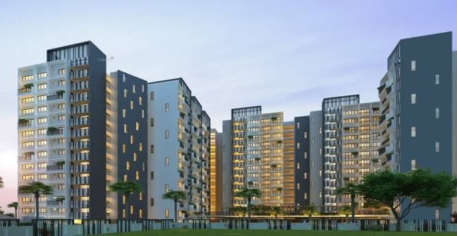 1196 sqft, 2 bhk Apartment in DSR Waterscape Horamavu, Bangalore at Rs. 58.0000 Lacs