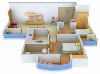 1005 sqft, 2 bhk Apartment in Parsvnath Pratibha Sector 4 New Moradabad, Moradabad at Rs. 30.0000 Lacs