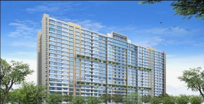 1325 sqft, 3 bhk Apartment in Kanakia Challenger Kandivali East, Mumbai at Rs. 50000