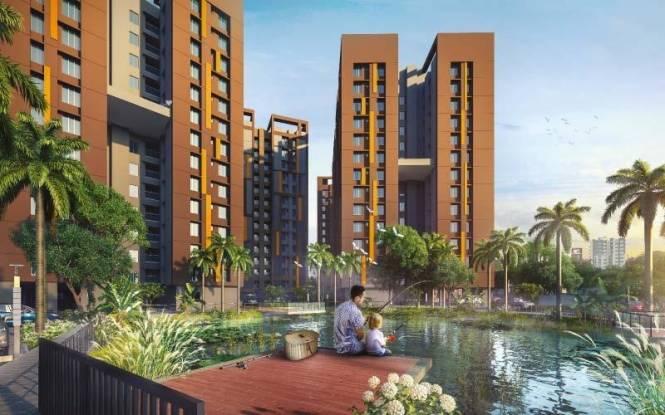 988 sqft, 3 bhk Apartment in Merlin Urvan Nager Bazar, Kolkata at Rs. 63.2320 Lacs