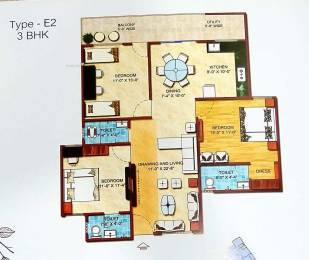 1500 sqft, 3 bhk Apartment in Builder sagar eden garden Hoshangabad Road, Bhopal at Rs. 49.0000 Lacs