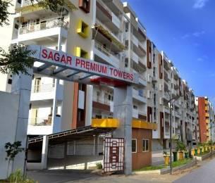 1500 sqft, 3 bhk Apartment in Builder Sagar Premium Tower1 Kolar Road, Bhopal at Rs. 8000