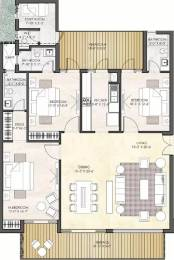 2200 sqft, 3 bhk Apartment in Puri Diplomatic Greens Sector 110A, Gurgaon at Rs. 1.9000 Cr