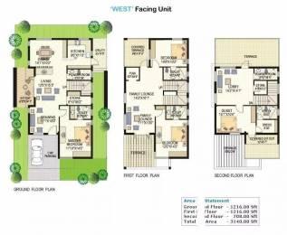 3000 sqft, 4 bhk Villa in Vertex Lake View Pragathi Nagar Kukatpally, Hyderabad at Rs. 2.1000 Cr
