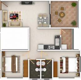 920 sqft, 2 bhk Apartment in Swati Morning Mist Wagholi, Pune at Rs. 0