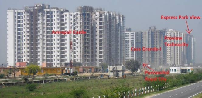 1075 sqft, 2 bhk Apartment in Amrapali Castle CHI 5, Greater Noida at Rs. 36.0000 Lacs