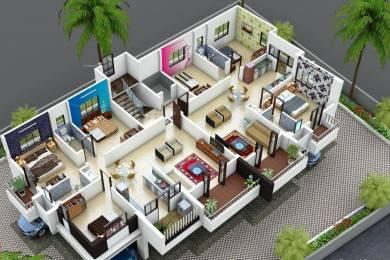 1370 sqft, 3 bhk Apartment in Builder SAMYAK21 Rane Nagar, Nashik at Rs. 48.0000 Lacs