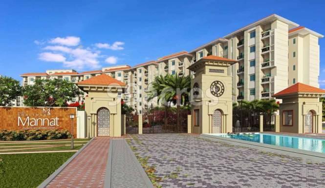 990 sqft, 2 bhk Apartment in Shalimar Sheres Shalimar Mannat Faizabad Road, Lucknow at Rs. 33.0660 Lacs