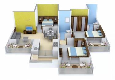 1340 sqft, 3 bhk Apartment in Gulshan Ikebana Sector 143, Noida at Rs. 68.0000 Lacs