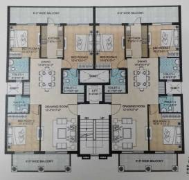 1596 sqft, 3 bhk Apartment in Builder omaxe Celestia Royal Premier New Chandigarh Mullanpur, Chandigarh at Rs. 58.0000 Lacs