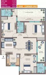 1740 sqft, 3 bhk Apartment in Emerald Heights Sector 88, Faridabad at Rs. 65.9000 Lacs