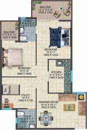 817 sqft, 2 bhk Apartment in Conscient Habitat 78 Sector 78, Faridabad at Rs. 26.0000 Lacs