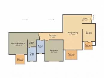 1276 sqft, 2 bhk Apartment in TATA La Vida Sector 113, Gurgaon at Rs. 1.1900 Cr