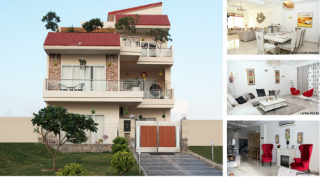 1660 sqft, 3 bhk Villa in Gaursons 32nd Parkview Gaur Yamuna City Sector 19 Yamuna Expressway, Noida at Rs. 58.0011 Lacs