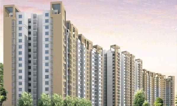 1090 sqft, 2 bhk Apartment in Tulsiani Urban Woods Sushant Golf City, Lucknow at Rs. 43.6000 Lacs