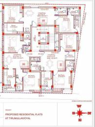 826 sqft, 2 bhk Apartment in GP New Springs Thirumullaivoyal, Chennai at Rs. 40.0000 Lacs