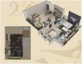 1260 sqft, 2 bhk Apartment in Platinum Saaga Near Nirma University On SG Highway, Ahmedabad at Rs. 48.0000 Lacs