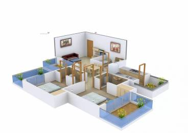 1279 sqft, 2 bhk Apartment in KLJ Greens Sector 77, Faridabad at Rs. 3.8000 Cr
