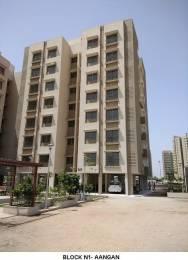 650 sqft, 1 bhk Apartment in Adani Aangan Near Vaishno Devi Circle On SG Highway, Ahmedabad at Rs. 22.0000 Lacs