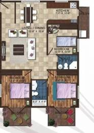 1410 sqft, 3 bhk Apartment in Linea Linea Lily Hennur, Bangalore at Rs. 62.0000 Lacs