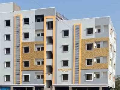1150 sqft, 2 bhk Apartment in Builder Meghana Clasics Pragathi Nagar Kukatpally, Hyderabad at Rs. 40.2500 Lacs
