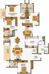 2891 sqft, 4 bhk Apartment in Prestige South Ridge Banashankari, Bangalore at Rs. 50000