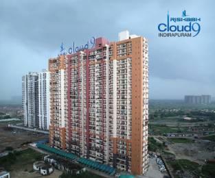 1200 sqft, 3 bhk Apartment in Rishabh Cloud 9 Skylish Towers Shakti Khand, Ghaziabad at Rs. 56.4000 Lacs
