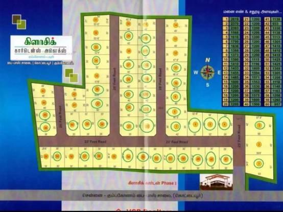 1200 sqft, Plot in Builder Classic Garden Kumbakonam, Thanjavur at Rs. 9.0000 Lacs