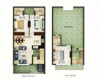 945 sqft, 3 bhk Villa in Builder Vatika The Green Paradise Mohali Sector 127, Chandigarh at Rs. 40.0000 Lacs