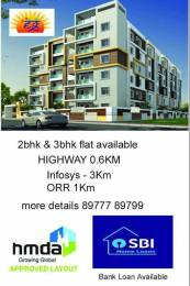 1220 sqft, 2 bhk Apartment in Builder EG Annojiguda, Hyderabad at Rs. 43.9200 Lacs