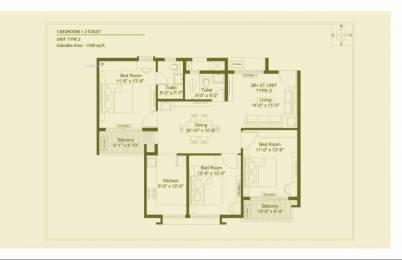 1590 sqft, 3 bhk Apartment in Builder DN FAIRYTALE Khandagiri, Bhubaneswar at Rs. 55.6000 Lacs