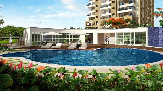 1000 sqft, 2 bhk Apartment in Kolte Patil IVY Apartments Wagholi, Pune at Rs. 12000