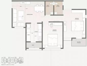 963 sqft, 2 bhk Apartment in Swagat Afford Sargaasan, Gandhinagar at Rs. 12000