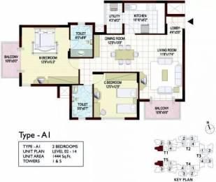 1444 sqft, 2 bhk Apartment in Prestige Notting Hill Gottigere, Bangalore at Rs. 25000
