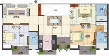 1990 sqft, 3 bhk Apartment in Nalanda Pride Kamla Nagar, Agra at Rs. 90.0000 Lacs