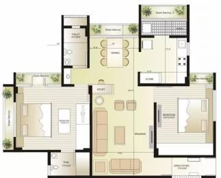 1323 sqft, 2 bhk Apartment in Swagat Flamingo Sargaasan, Gandhinagar at Rs. 42.0000 Lacs