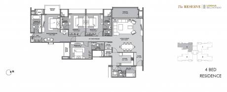 6129 sqft, 4 bhk Villa in Lodha Belmondo Gahunje, Pune at Rs. 6.1000 Cr
