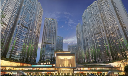 1180 sqft, 2 bhk Apartment in Builder Adhiraj codename upper crest Kharghar, Mumbai at Rs. 1.2000 Cr