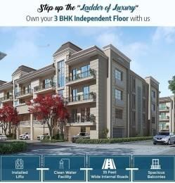2200 sqft, 3 bhk Villa in Manglam Riverdale Aerovista Bir Chhat, Zirakpur at Rs. 79.0000 Lacs