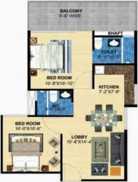 647 sqft, 2 bhk Apartment in Perfect Zara Aavaas Sector 104, Gurgaon at Rs. 20.4200 Lacs